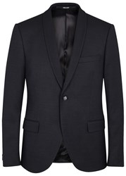 Tiger Of Sweden Hubert Navy Textured Blazer