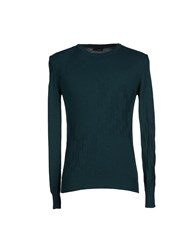 Tonello Knitwear Jumpers Men Emerald Green