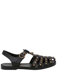 Gucci Studded Gladiator Rubber Sandals