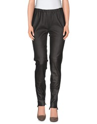 Hotel Particulier Trousers Casual Trousers Women Dark Brown
