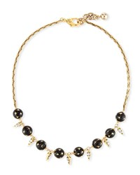 Lulu Frost Fidelity Midi Necklace With Crystals Gold