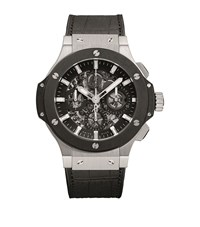 Hublot Aero Bang 44Mm Ceramic Chronograph Watch Unisex Black