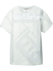 Ermanno Scervino Lace Detail T Shirt White