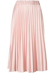 P.A.R.O.S.H. Pleated Skirt Women Polyester 36 Pink Purple