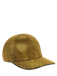 Faith Connexion Rhinestone Embellished Cotton Hat Bronze