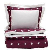 Gant Star Border Duvet Cover Purple Fig King