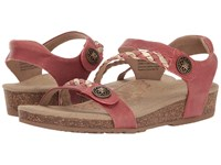 Aetrex Jillian Quarter Strap Raspberry Women's Sandals Pink