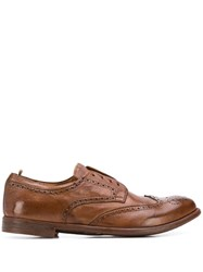 Officine Creative Arc Ignist Loafers Brown
