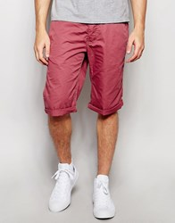 Esprit Chino Shorts Bordeaux Red