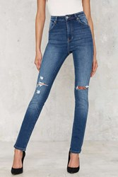 Nasty Gal Rolla's Eastcoast High Waisted Skinny Jeans
