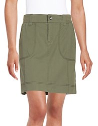 Lord And Taylor Cargo Skirt Thyme