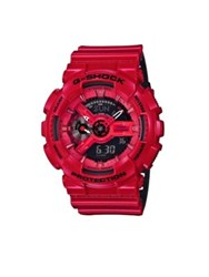 G Shock Glitter Resin Ana Digi Strap Watch Red