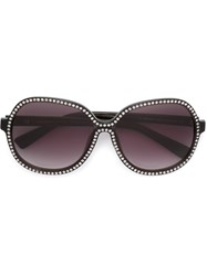Nina Ricci Embellished Sunglasses Black