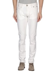 9.2 By Carlo Chionna Denim Pants White