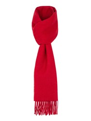 Paul Costelloe Lombard Brushed Lambswool Scarf Red