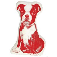 Areaware Terrier Mini Cushion Red
