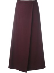 Stephan Schneider Diagonal Cut Skirt Red
