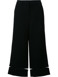 Alexander Wang Fishing Line Trim Cropped Trousers Black