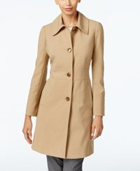Larry Levine Button Front Walker Coat Only At Macy's Camel