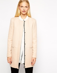 Y.A.S Textured Coat Toastedalmond