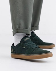 Etnies Barge Ls Trainers In Khaki Green