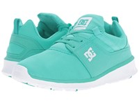 Dc Heathrow Turquoise White Women's Skate Shoes Blue