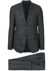 Emporio Armani Classic Checked Two Piece Suit 60
