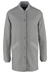 Eleven Paris Parc Classic Coat Grey Mottled Grey