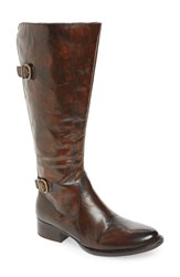 Born B Rn Gibb Riding Boot Dark Grey Leather