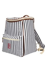 Cathy's Concepts Monogram Stripe Backpack Cooler
