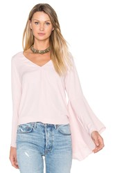 Amanda Uprichard Laura Top Pink