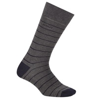 Gant Breton Stripe Socks One Size Dark Grey