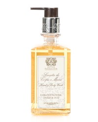 Antica Farmacista Damascena Rose Orris And Oud Hand And Body Wash 10 Oz.