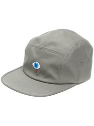 Undercover Embroidered Eye Cap Grey