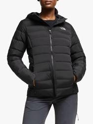 The North Face Stretch Down Hooded Jacket Tnf Black