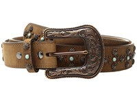 Ariat Nailhead Belt Tan Women's Belts