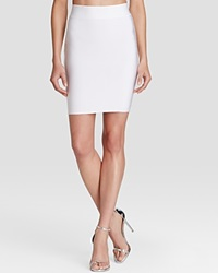 Wow Couture Skirt High Rise Bandage White