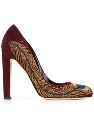 Brian Atwood 'Isabelle' Pumps Red