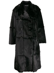 Tom Ford Panelled Double Breasted Coat 60
