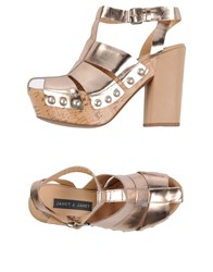 Janet And Janet Sandals Copper