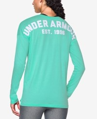 Under Armour Favorite Long Sleeve Top Crystal White