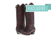 Roper Curry Red Cowboy Boots