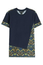 Marc By Marc Jacobs Printed Cotton T Shirt Blue
