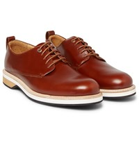 Want Les Essentiels Montoro Leather Derby Shoes Tan