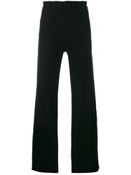Undercover Straight Leg Trousers Wool Black