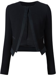Derek Lam Open Jacket Black