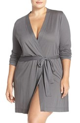 Yummie Tummie Plus Size Women's By Heather Thomson Jersey Robe