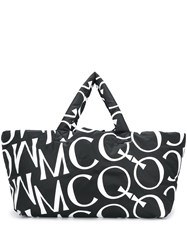 Mcq By Alexander Mcqueen Oversized Logo Padded Tote 60
