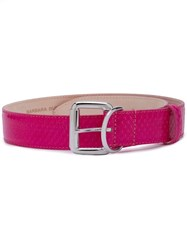 Barbara Bui Classic Adjustable Belt Pink