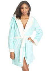 Pj Salvage Fleece Short Robe Green